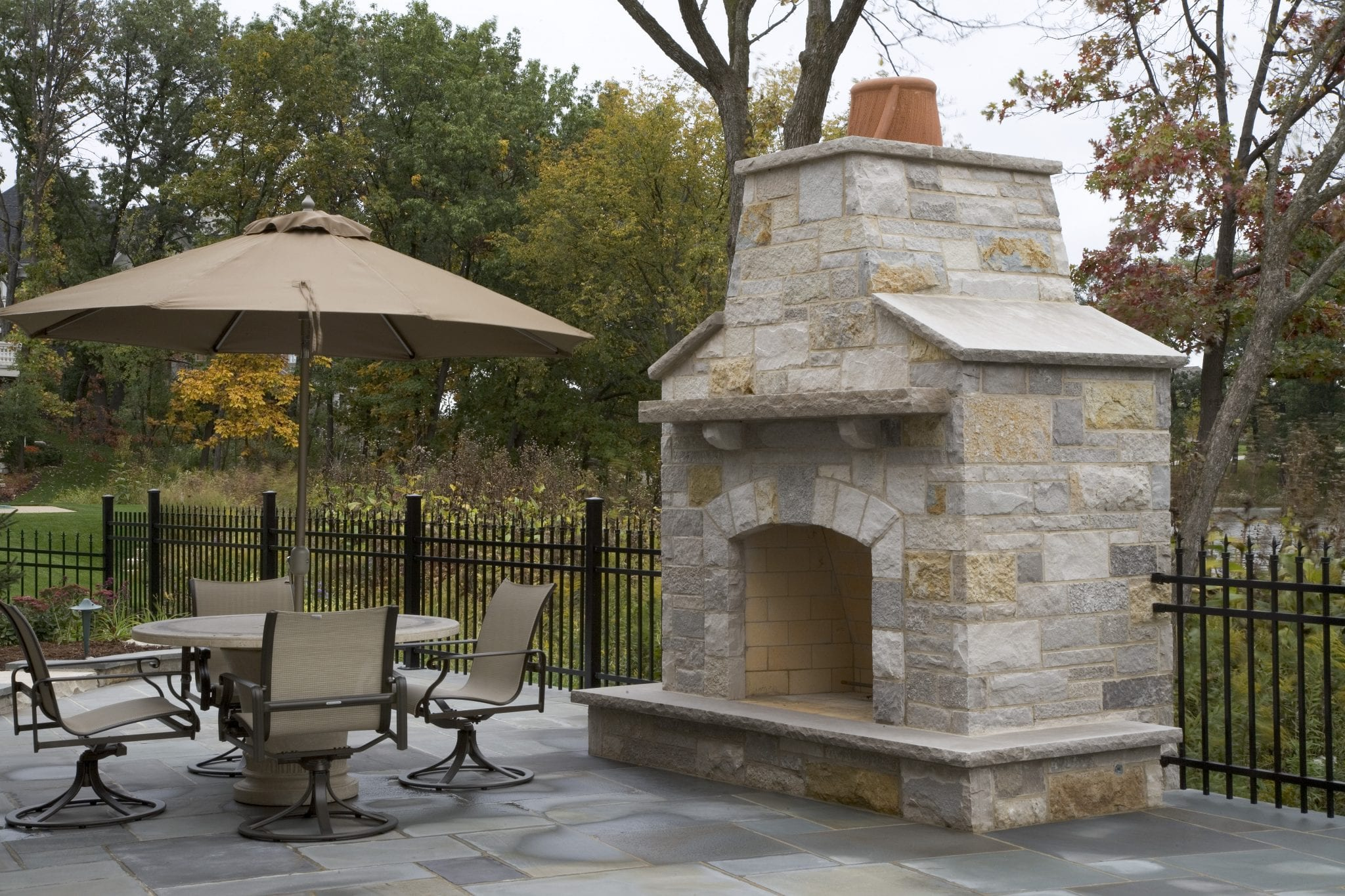 Fire Pits and Fireplaces